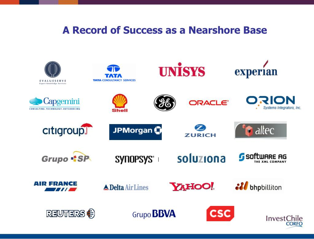 A Record of Success as a Nearshore Base