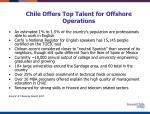 chile offers top talent for offshore operations