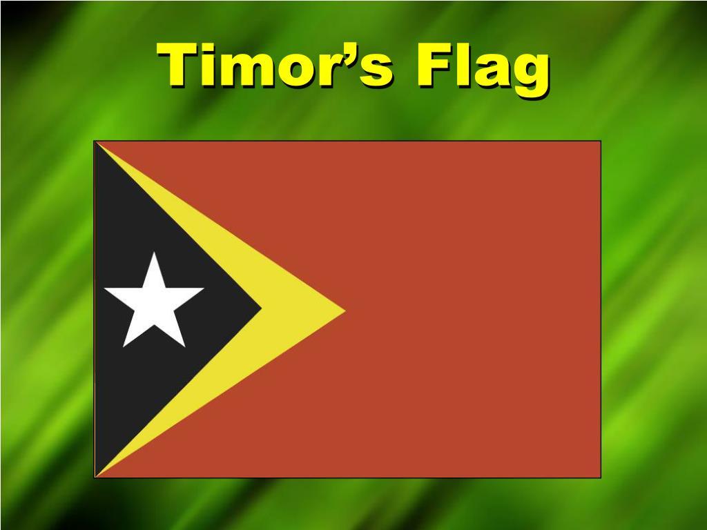 Timor's Flag