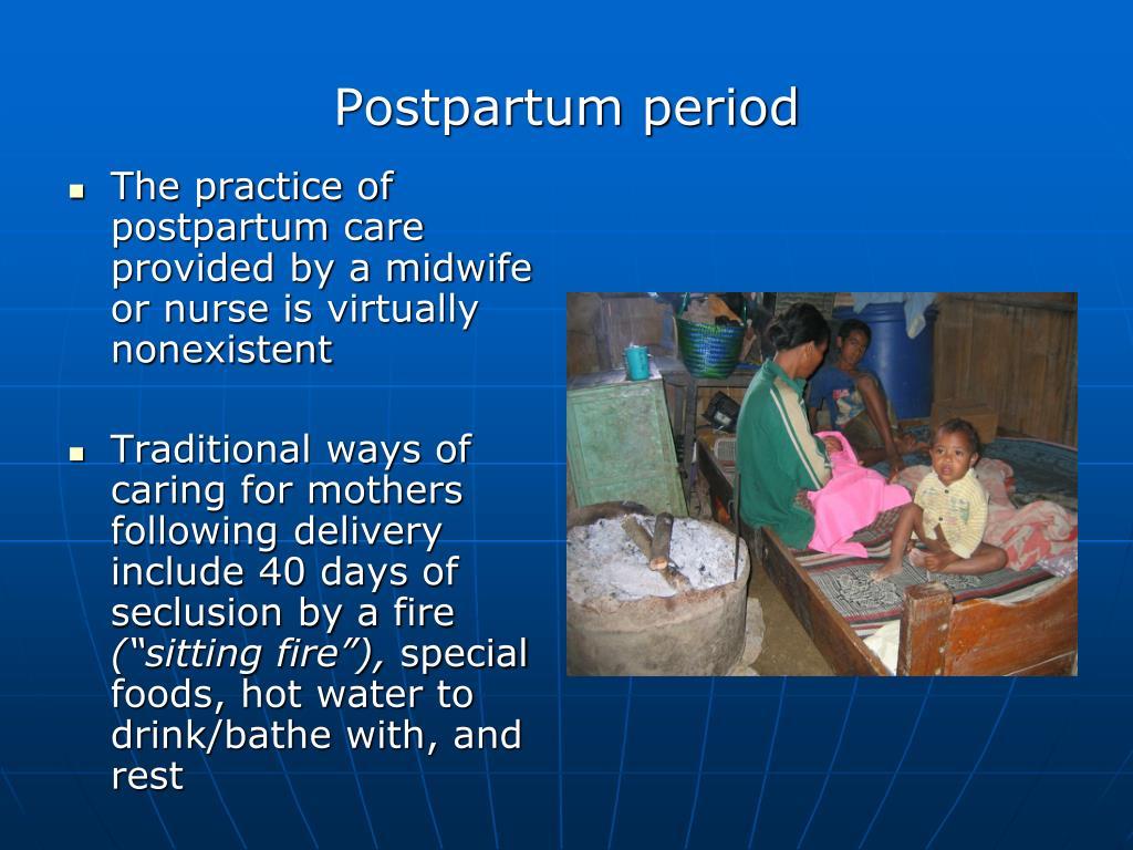 Postpartum period
