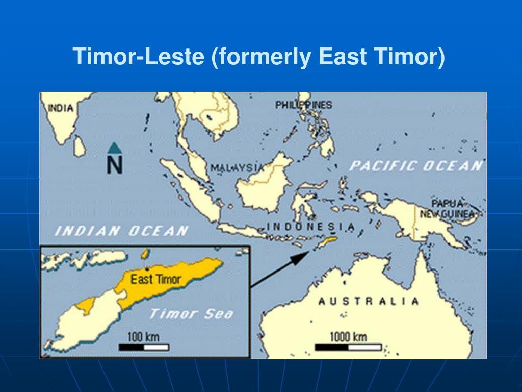 Timor-Leste (formerly East Timor)