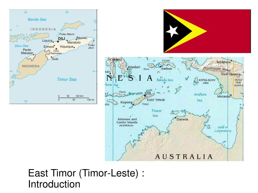 East Timor (Timor-Leste) : Introduction
