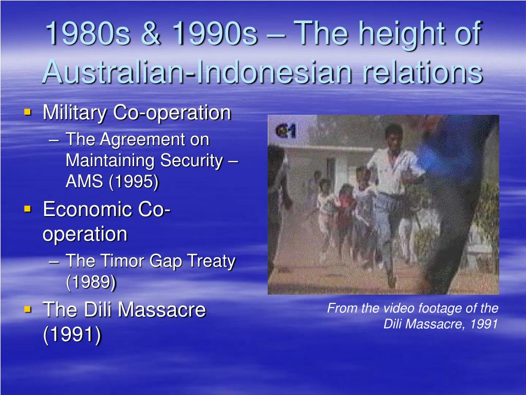 1980s & 1990s – The height of Australian-Indonesian relations