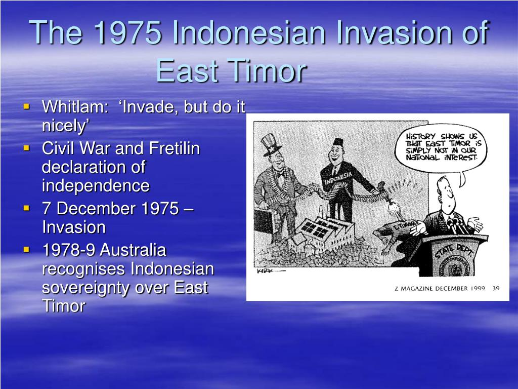 The 1975 Indonesian Invasion of East Timor