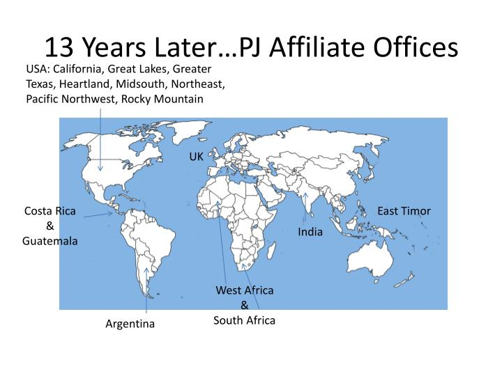 13 years later pj affiliate offices l.jpg