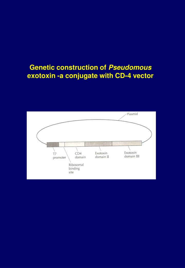 Genetic construction of