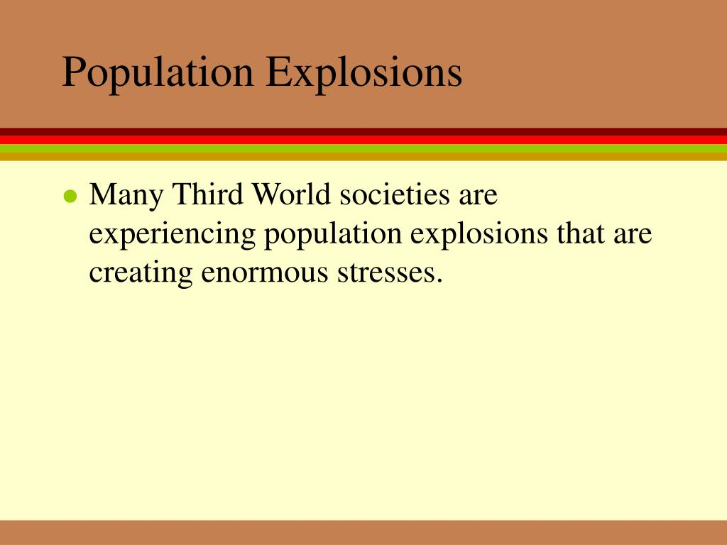 Population Explosions