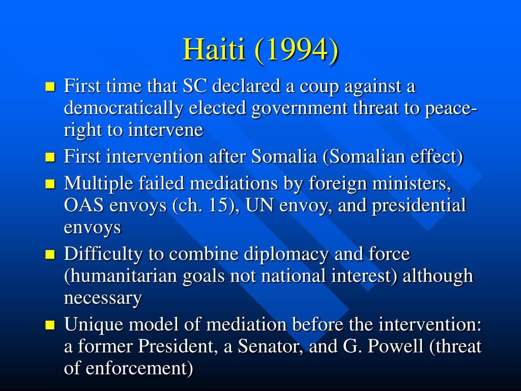 Haiti (1994)