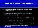 other asian countries