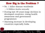 how big is the problem