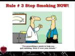 rule 3 stop smoking now1