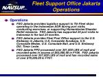 fleet support office jakarta operations