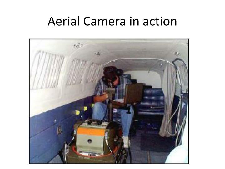 Aerial Camera in action