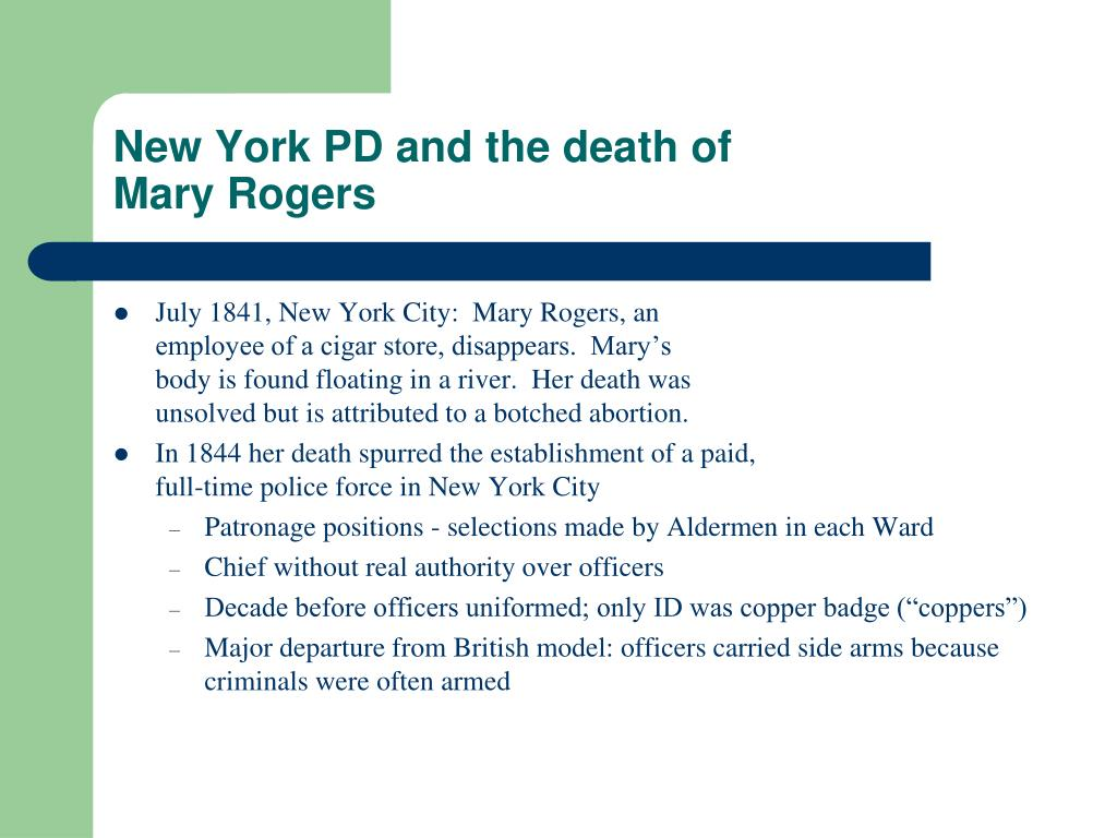New York PD and the death of