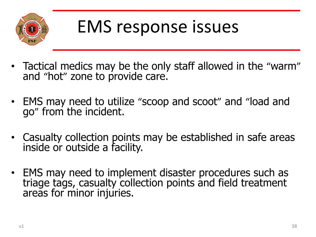 EMS response issues