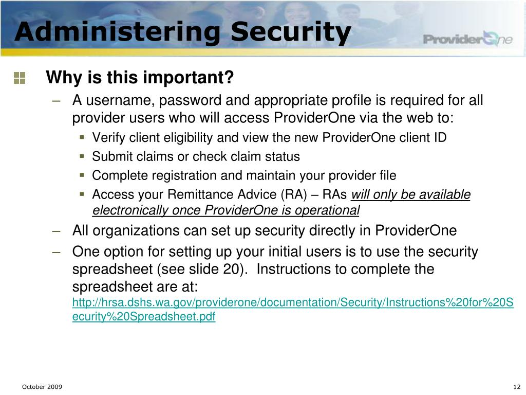 Administering Security