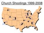 church shootings 1999 20083