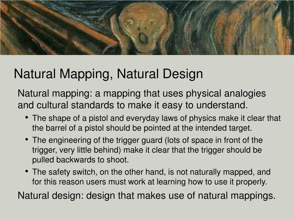 Natural Mapping, Natural Design