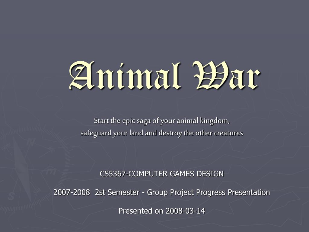 Animal War