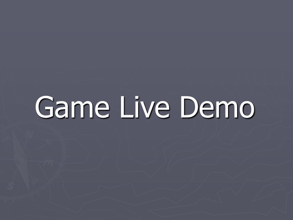Game Live Demo