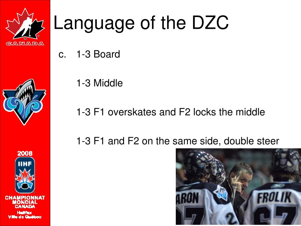 Language of the DZC