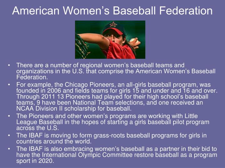 American Women's Baseball Federation