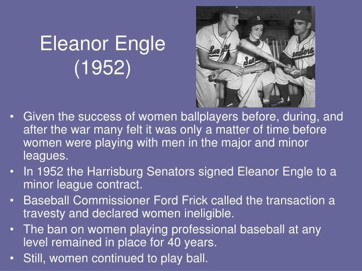 Eleanor Engle (1952)