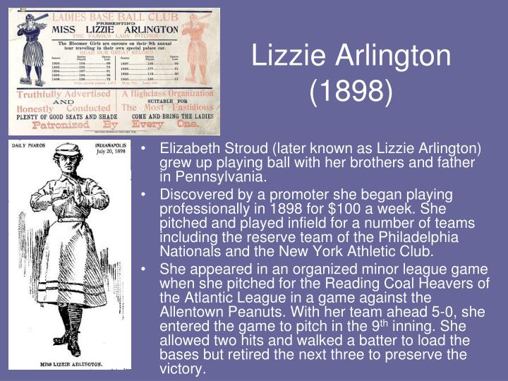 Lizzie Arlington