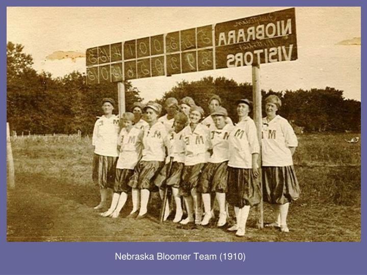 Nebraska Bloomer Team (1910)