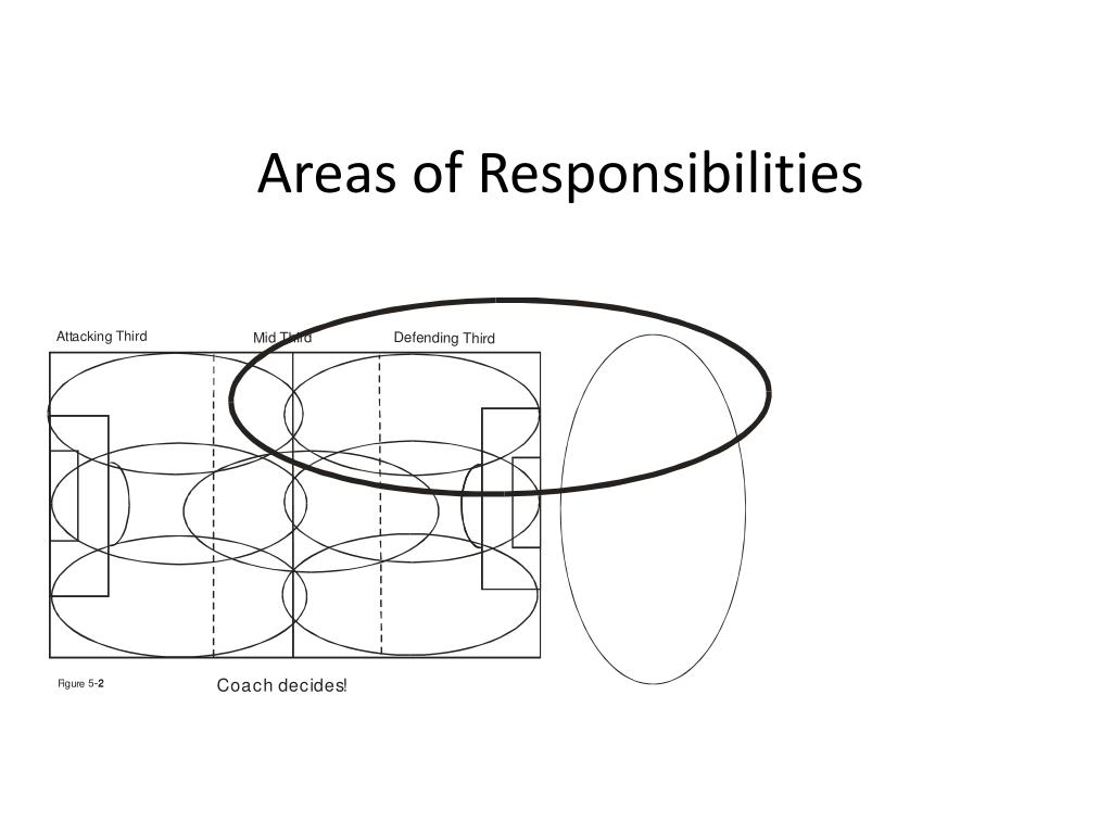 Areas of Responsibilities