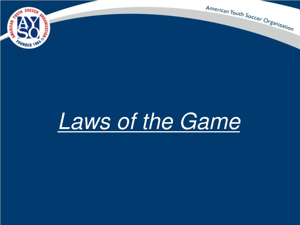 Laws of the Game