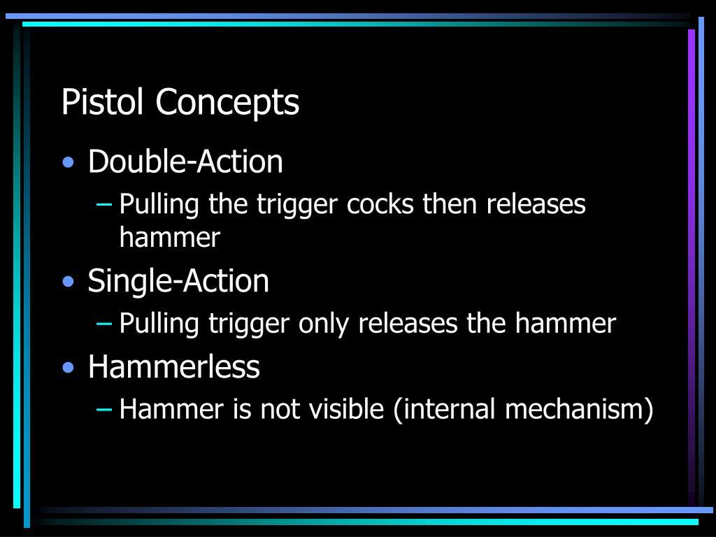 Pistol Concepts