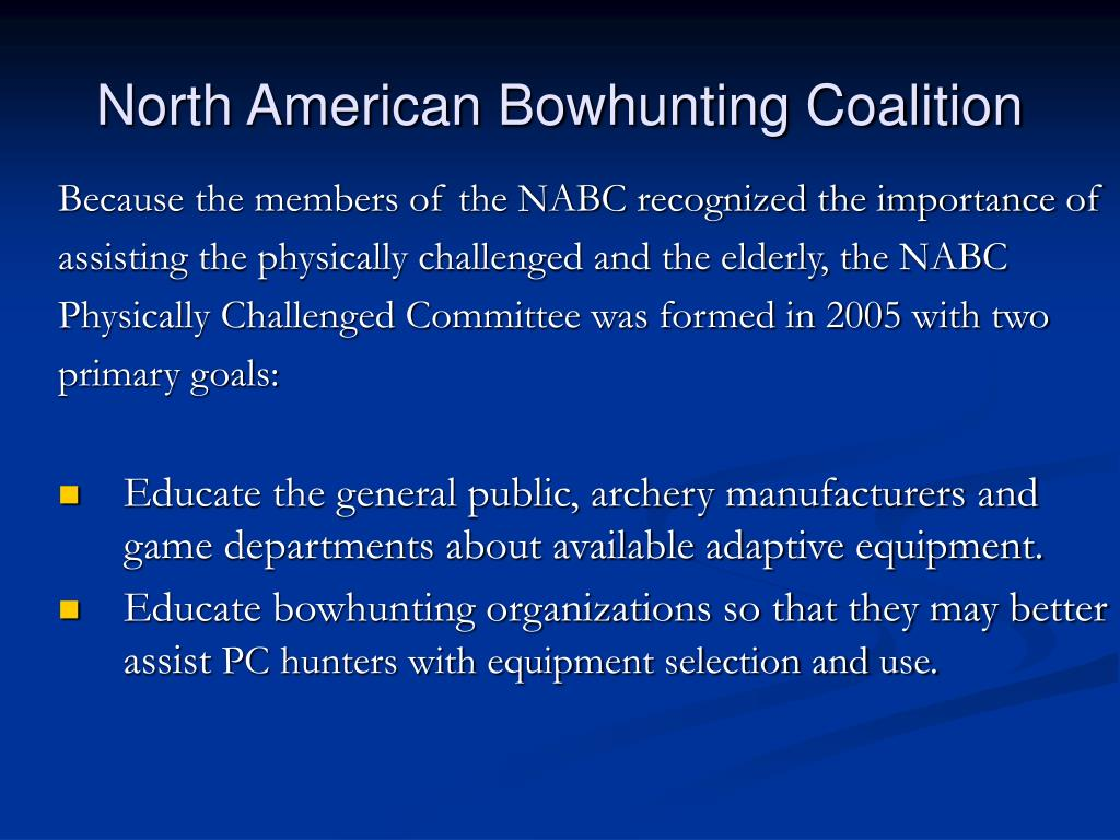 North American Bowhunting Coalition