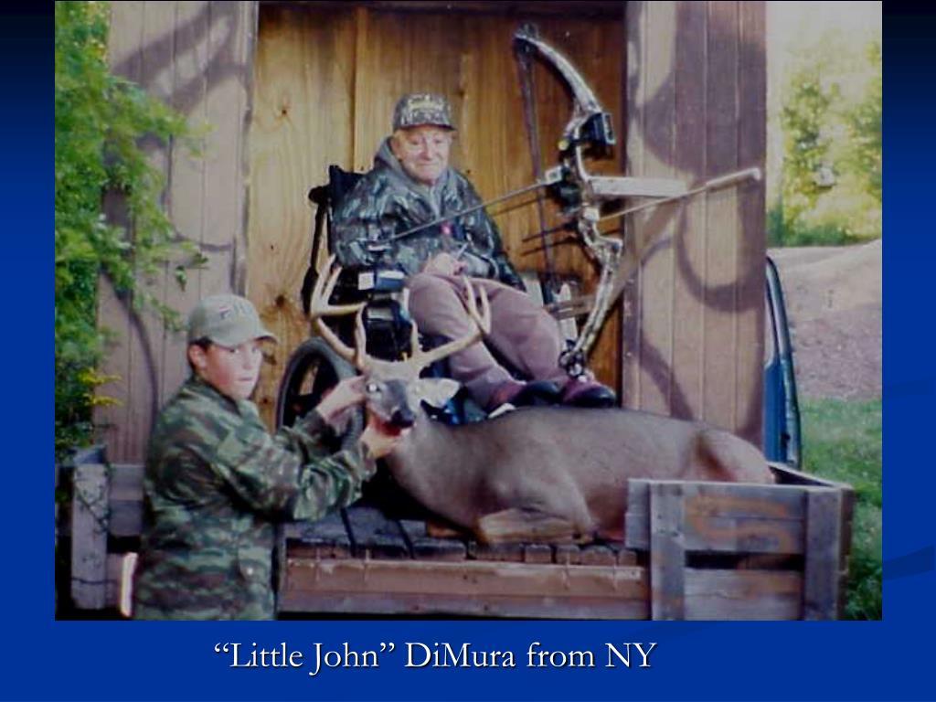 """""""Little John"""" DiMura from NY"""