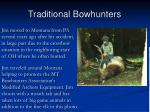 traditional bowhunters77
