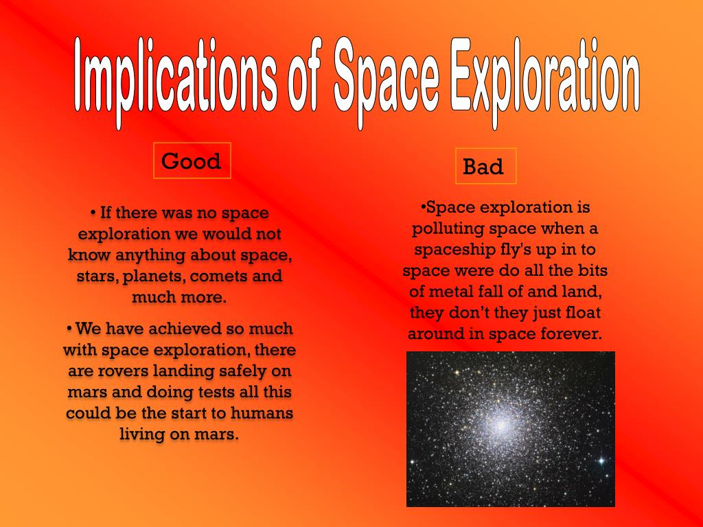 Implications of Space Exploration