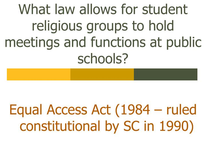 the landmark case of engel v vitale regarding the constitutions establishment clause In engel vvitale (1962), scotus decided that government-directed prayer in public schools violates the establishment clause, even if the prayer is voluntary and denominationally ambiguousin.