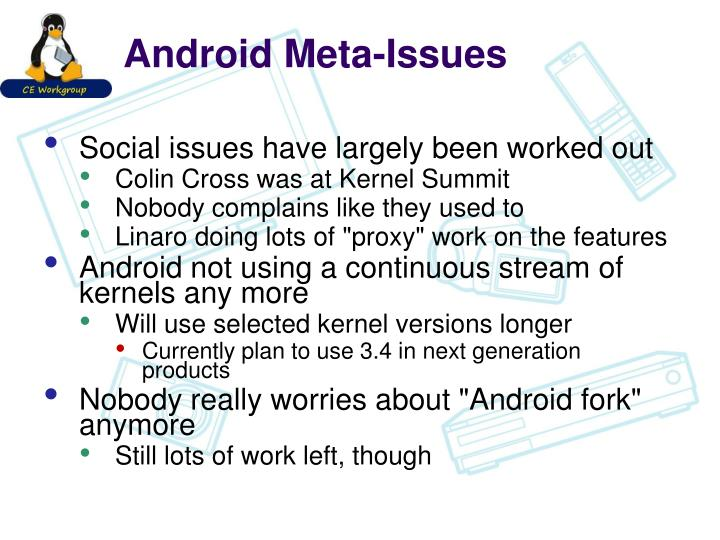 Android Meta-Issues