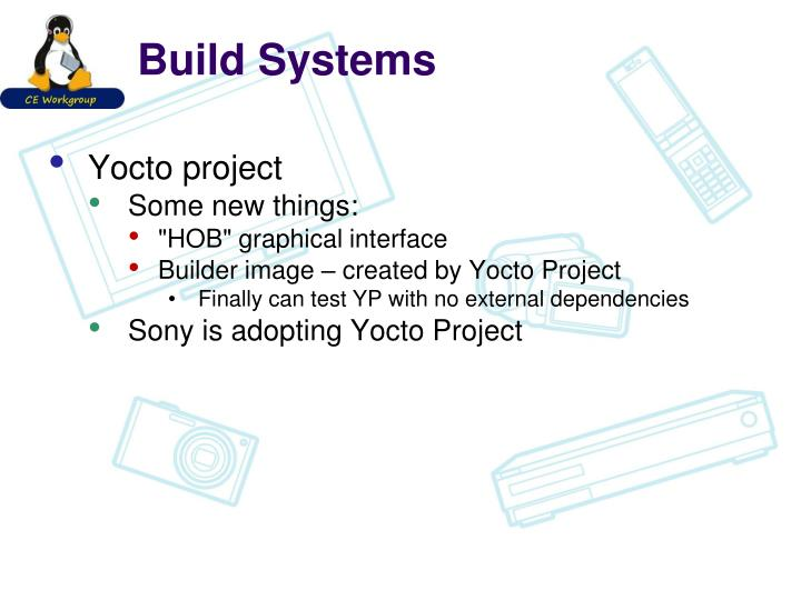 Build Systems