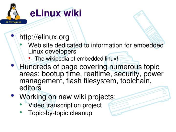 eLinux wiki