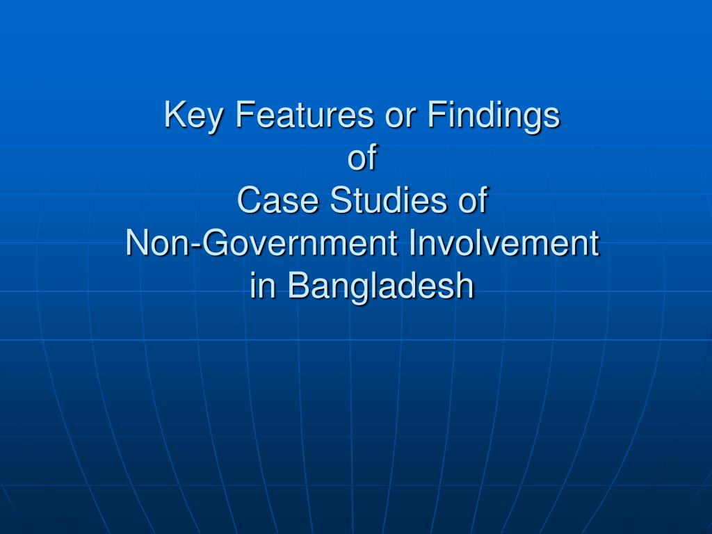 Key Features or Findings