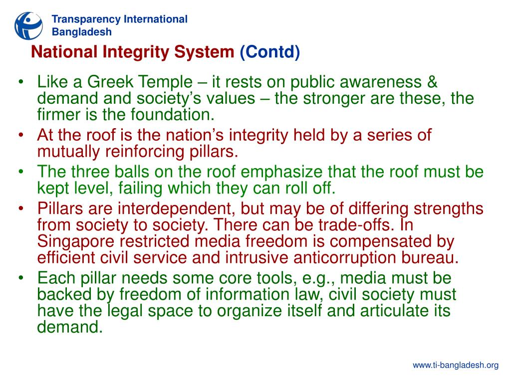 National Integrity System