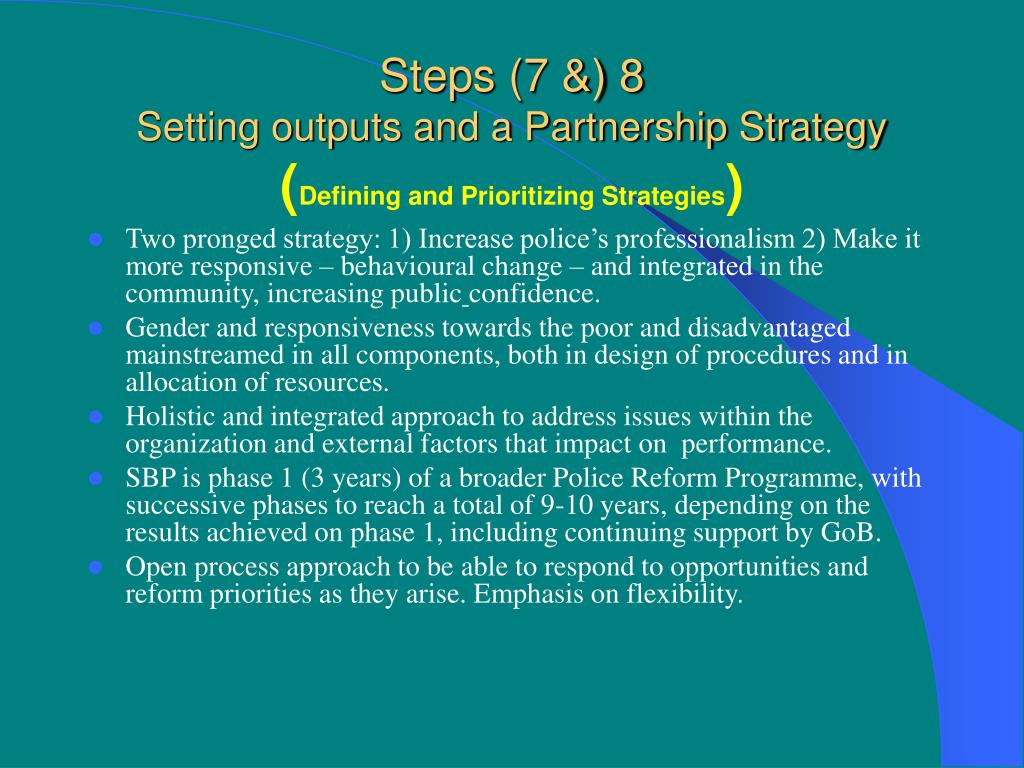 Steps (7 &) 8