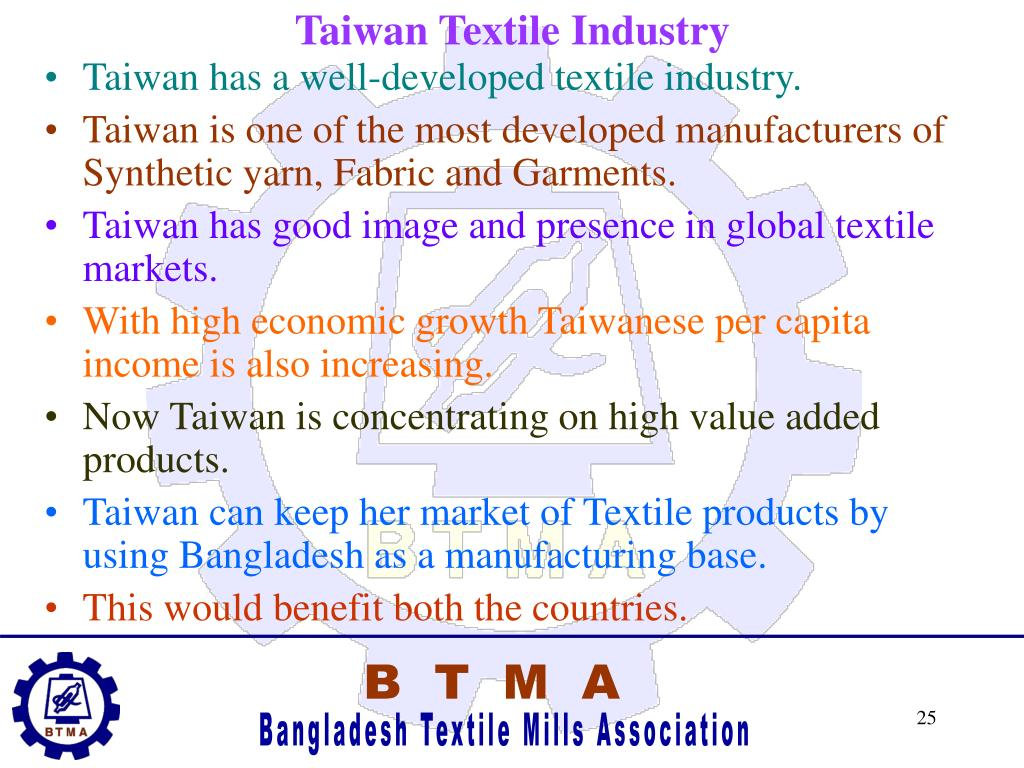 Taiwan Textile Industry