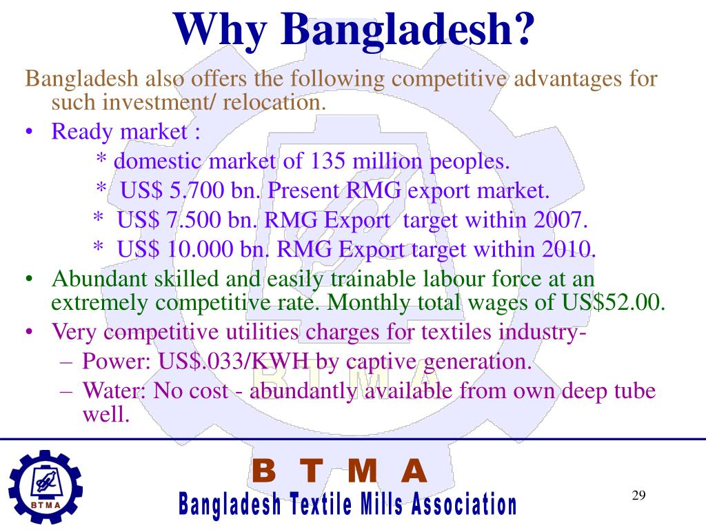 Why Bangladesh?