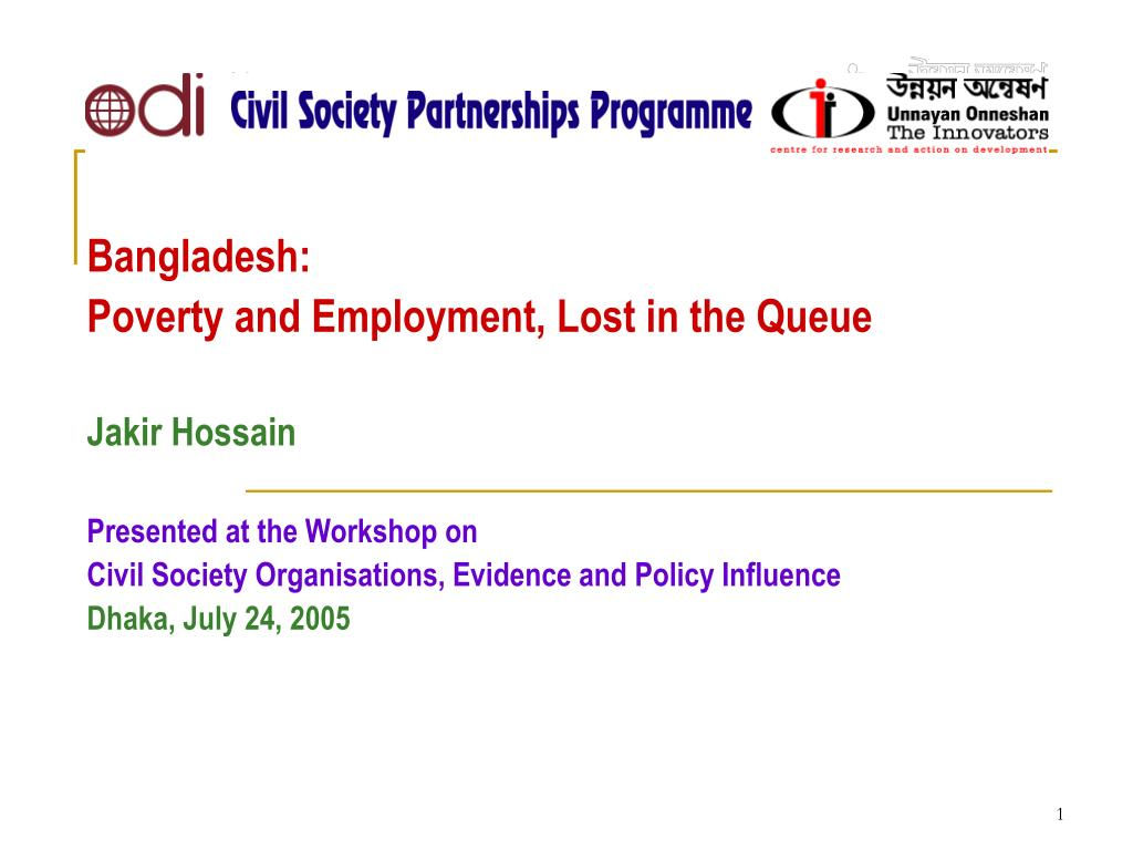 Civil  Society  Partnerships  Programme