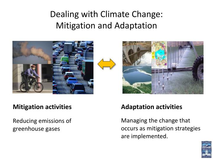 Dealing with Climate Change: