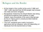 refugees and the border