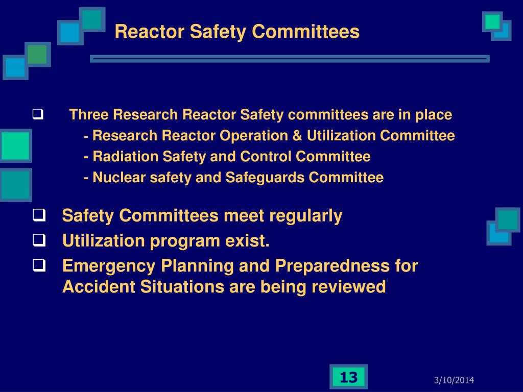 Reactor Safety Committees
