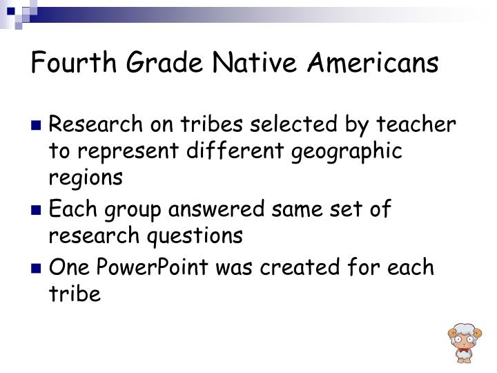 Fourth Grade Native Americans